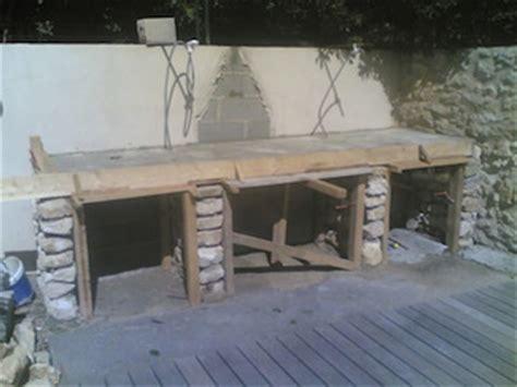 construction plan de travail barbecue barbecue plan de travail barbecue et