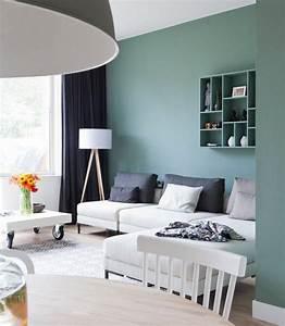 Farben Für Kleine Räume Mit Dachschräge : trendige farben f r die wohnzimmerw nde 25 ideen ~ Markanthonyermac.com Haus und Dekorationen
