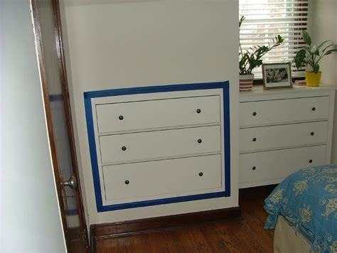 hemnes dresser 3 drawer assembly space saving three drawer chest inset into plasterboard