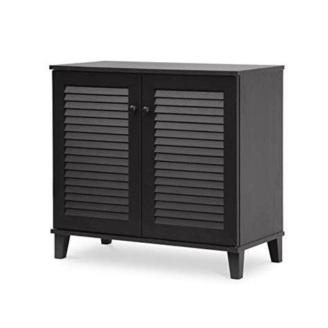 baxton studio coolidge shoe storage cabinet espresso 847321021389 united states