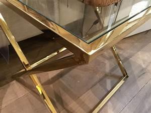 Tisch Glas Metall : beistelltisch gold glas metall glastisch gold tisch gold glastisch ma e 50x50 cm ~ Markanthonyermac.com Haus und Dekorationen