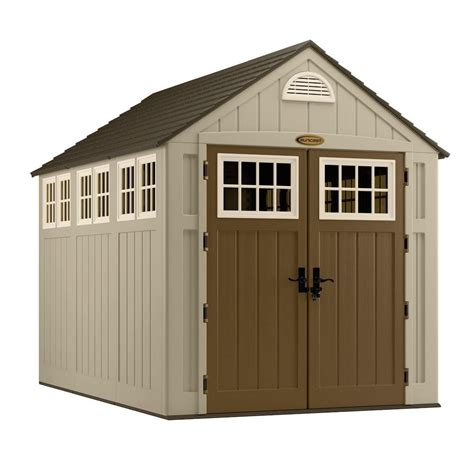 rubbermaid garden sheds home depot suncast alpine 7x10 storage shed bms8000 free shipping