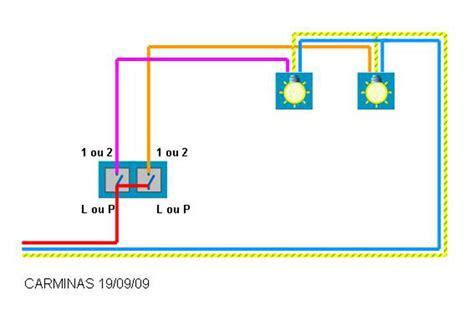 branchement d un interrupteur doubles pour deux les different