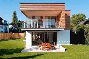 Kleine Terrasse Gestalten : haus bauen kleine einfamilienh user neubau aussen gestalten haus dekorieren ideen mit terrasse ~ Markanthonyermac.com Haus und Dekorationen