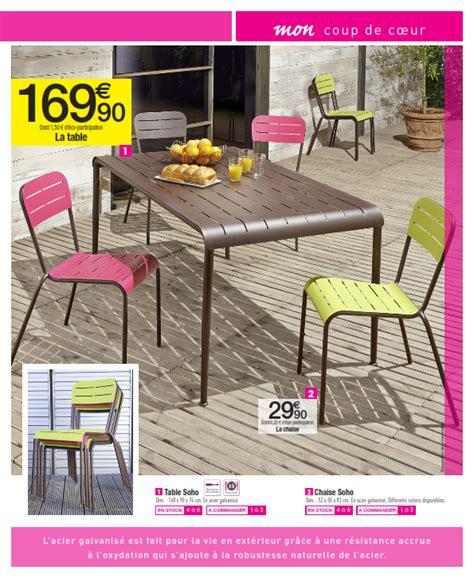 carrefour mobilier de jardin cataloguespromo