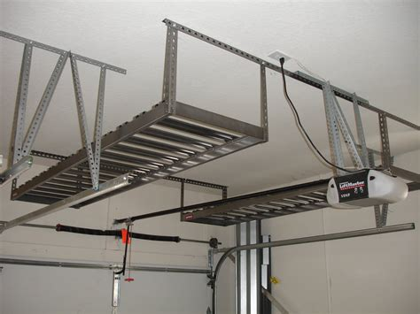 build a mezzanine floor for storage in a garage