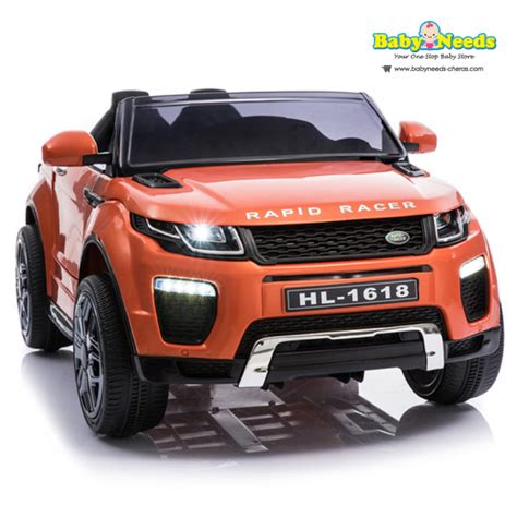 childrens electric cars range rover 4k wallpapers