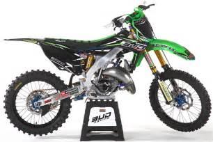 motocross magazine bud racing s radical aluminum framed kx125 two stroke motocross