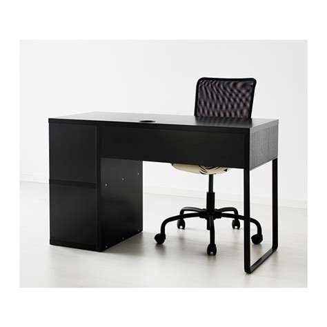 micke desk with integrated storage black brown from ikea price 81 000 dram