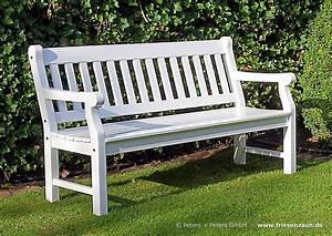Gartenbank Weiß Wetterfest : premium gartenbank hartholz natur ge lt oder wei lackiert ~ Markanthonyermac.com Haus und Dekorationen