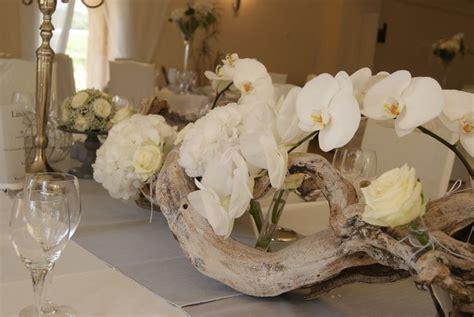 magnifique centre de table orchid 233 e bois flott 233 d 233 co salle nature tables and centre