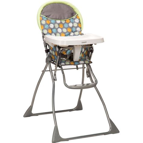 cosco slim fold high chair ikat dots walmart