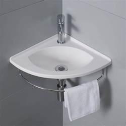 lave mains d angle salto porte serviette