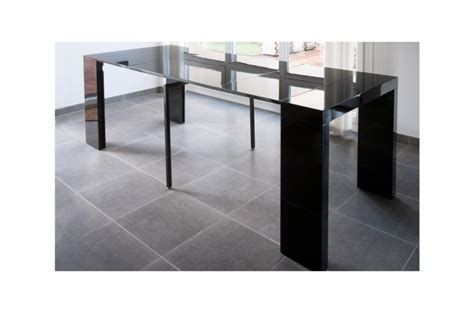 console extensible laqu 233 250cm chicago table console pas cher