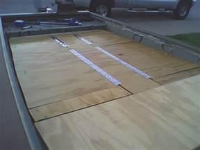 halle organizer build jon boat deck