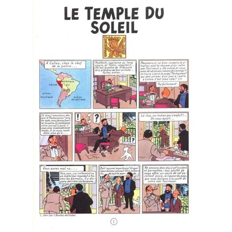 tintin album le temple du soleil edition fac simil 233 colours 1949 bd addik