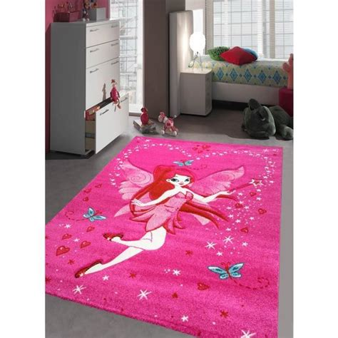 tapis chambre fille fee achat vente tapis cdiscount