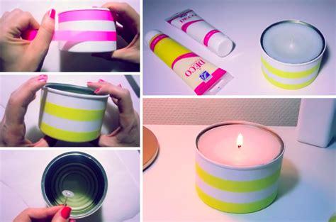 comment fabriquer ses bougies avec des boites de conserve astuce r 233 cup des id 233 es