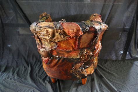 ed gein lounge human skin chair world of arts