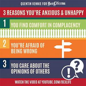 3 Reasons You're Anxious and Unhappy (VIDEO)