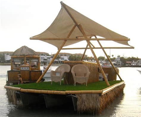 Tiki Party Boat Miami by Tiki Bar Pontoon Boat Pontiki Boat Cruises And Custom