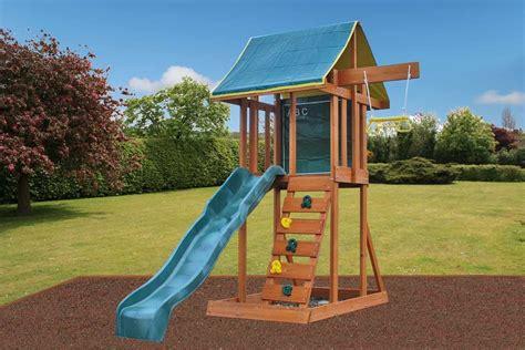 Holt Small Garden Climbing Frame With Slide & Swing