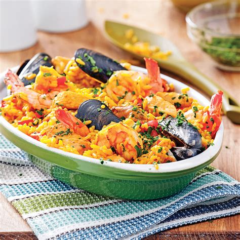 pa 235 lla aux fruits de mer et poulet recettes cuisine et nutrition pratico pratique