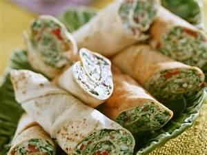 Wraps Füllung Vegetarisch : spinat k se wraps rezept eat smarter ~ Markanthonyermac.com Haus und Dekorationen