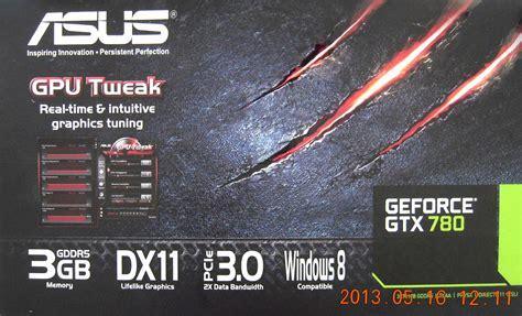 ASUS GeForce GTX 780 Box Pictured   VideoCardz.com