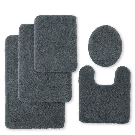 buy jcp home collection jcpenney home ultra soft dri bath rug collection pewter in cheap