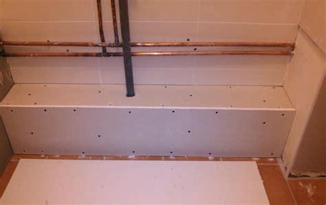 r 233 aliser un caisson en placo pour supporter meuble salle de bain