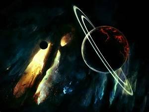 Download Saturn Destruction Planets Stars Wallpaper | PicsinHD