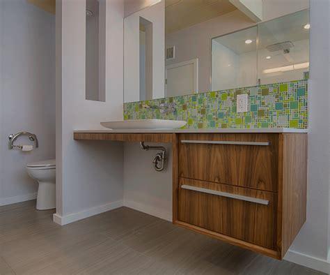 bathroom backsplash ideas bathroom midcentury with ada