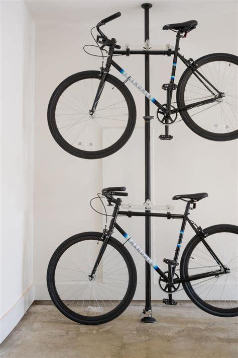 Garage Bike Storage Rack Ideas To Minimize Visual Clutter