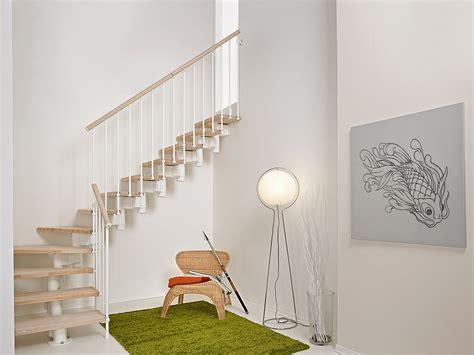 escalier ouvert quart tournant en acier et bois by fontanot albini fontanot