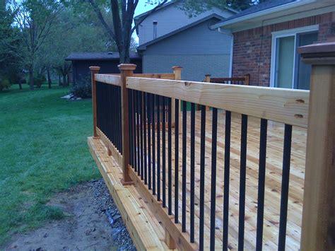 mi deck railings autumnwoodconstruction s