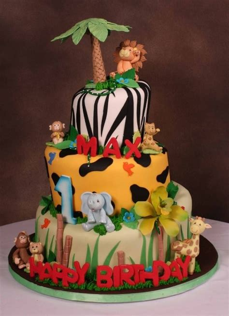 jungle theme cake jungle theme birthday cake troy jungle