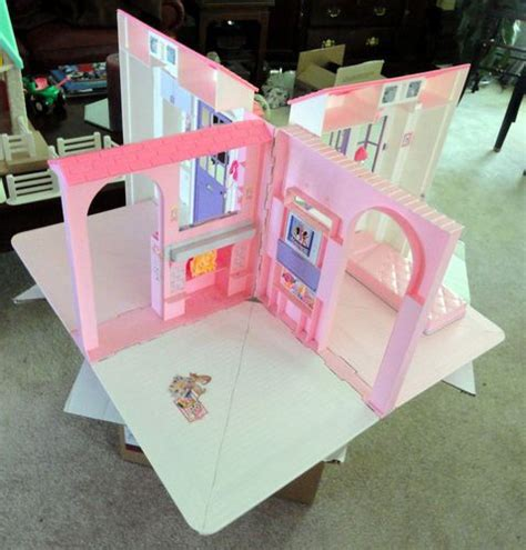 Barbie Dream Boat 90s by 1996 Barbie Fold Out Carry Doll House Doll Houses