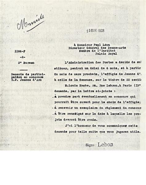 le concours organise en 1928 pour le timbre jeanne orleans 1929