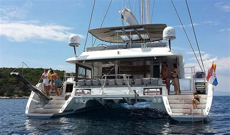 Catamaran Charter Greece Skippered by Lagoon 620 Catamaran Skippered Charter In Croatia Book2sail