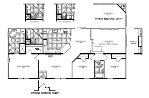 Clayton Mobile Home Floor Plans Photos by Manufactured Home Floor Plan 2006 Clayton Jamestown