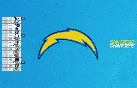 San Diego Chargers 2013 Schedule Desktop Wallpaper