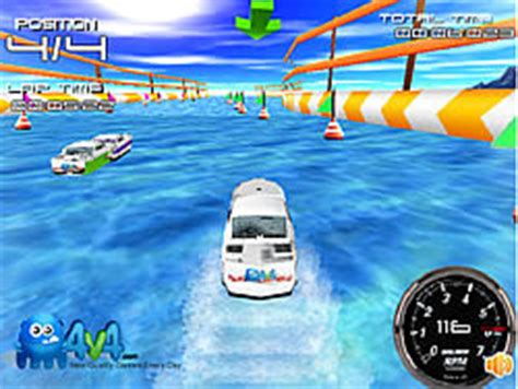 Boat Games Y8 by Play 3d Storm Boat Game Online Y8