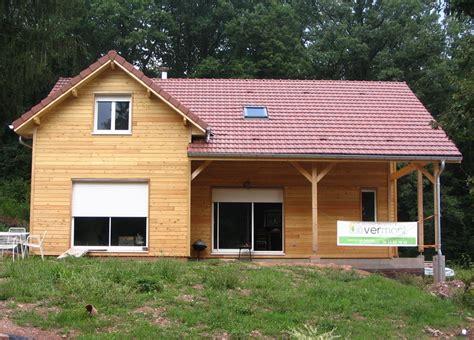 maison bois 224 luxeuil vermont maisons ossature bois 224 basse consommation en haute sa 244 ne