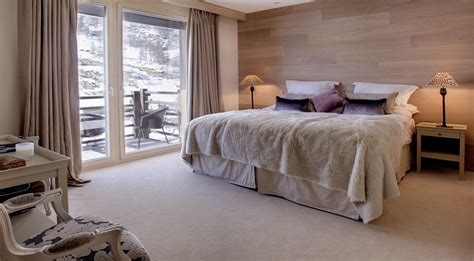 modern luxury chalet for rent in zermatt with spa area near the slopes
