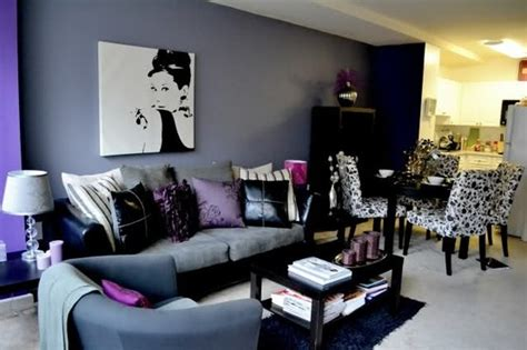 My Three Favorites In A Room. Purple, Black, And Audrey Flooring Ideas For Bathrooms Smal Bathroom Small Photo Gallery Wet Cute Apartment Antique Light Fixtures Options Cabinet Floor