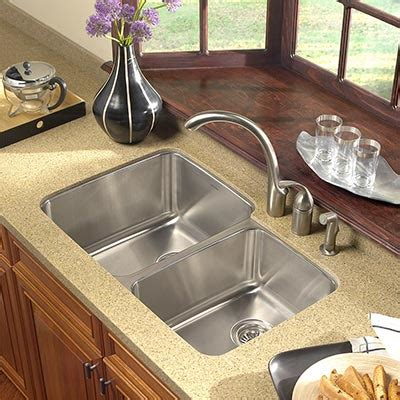 Houzer Stainless Steel Undermount Kitchen Sinks