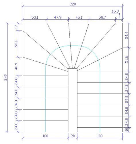 plan calcul escalier quart tournant sedgu