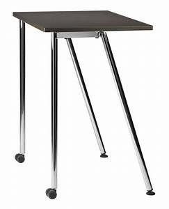 Tisch Mit Rädern : einfachen rechteckigen kleinen tisch mit metallsockel idfdesign ~ Markanthonyermac.com Haus und Dekorationen