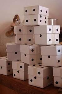 Lucky Dice Favor Box Template, Printable, Las Vegas Party ...